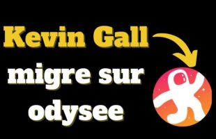 Kevin Gall migre sur odysee, YouTube censure